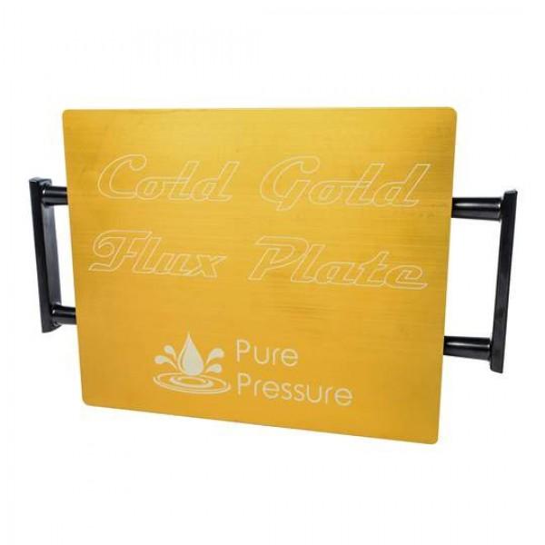 Pure Pressure Cold Gold Rosin Press Flux Plate