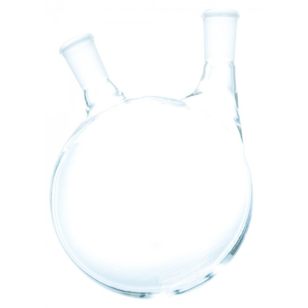 2 Neck Offset Round Heavy Wall Bottom Flask