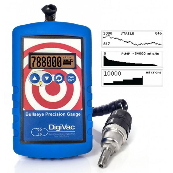 Bullseye Precision Vacuum Gauge