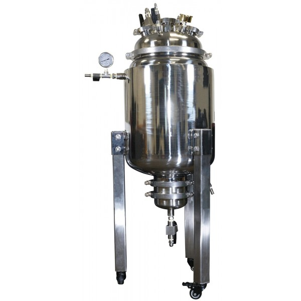 50L Stainless Steel Jacketed Reactor