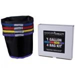 BoldtBags 1 Gallon 4 Bag Kit