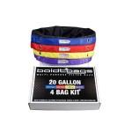BoldtBags 20 Gallon 4 Bag Kit