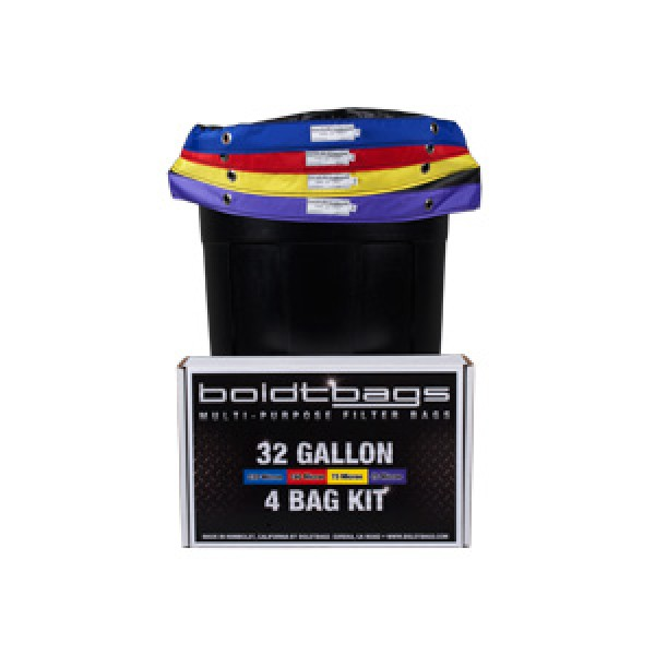 BoldtBags 32 Gallon 4 Bag Kit