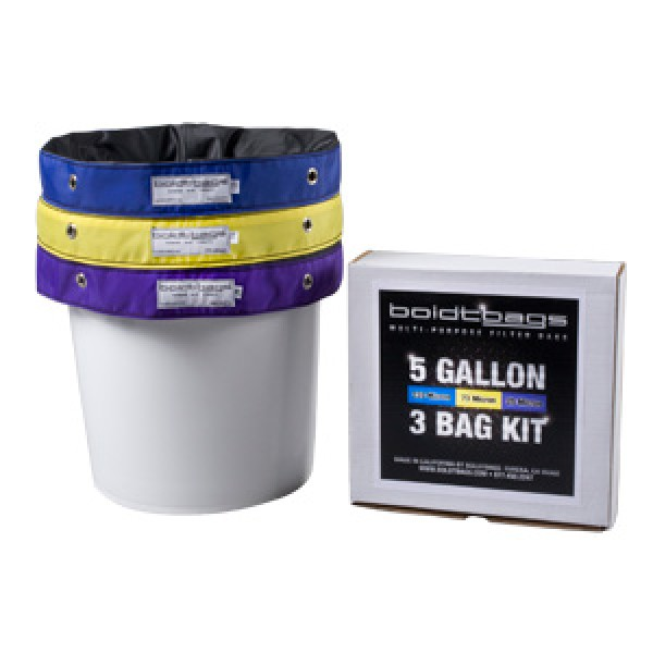BoldtBags 5 Gallon 3 Bag Kit
