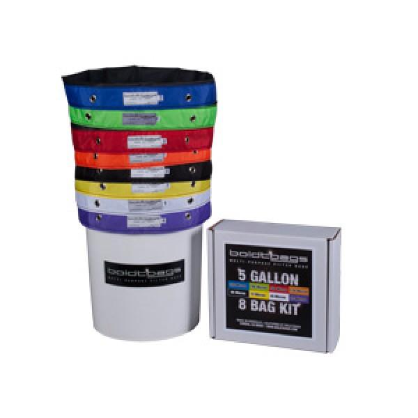 BoldtBags 5 Gallon 8 Bag Kit