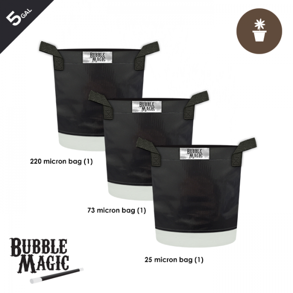 5 Gallon Bubble Magic Extraction Bags (set of 3)