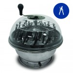 "18"" Clear Top Motorized Bowl Trimmer"