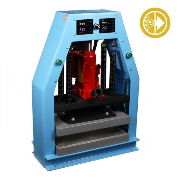 Bubble Magic 8''x16'' Hydraulic/Pneumatic Heat Press 12ton
