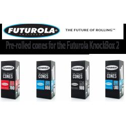 Pre-rolled cones for the Futurola KnockBox 3