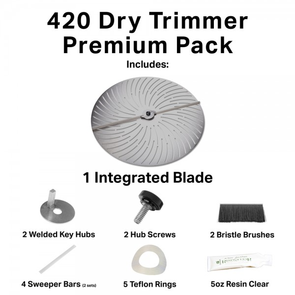 GreenBroz 420 Dry Trimmer Premium Parts and Accessories