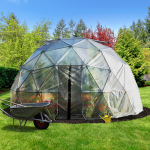 16' Geodesic Greenhouse 202 Square Feet