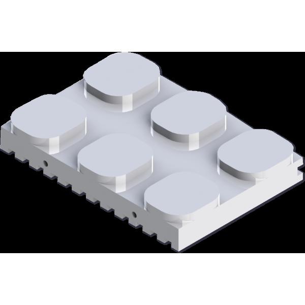NugSmasher Pressing Plates - 6 Pack