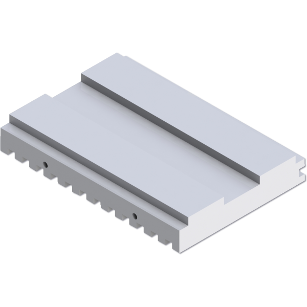 NugSmasher Pressing Plates - Split Plate