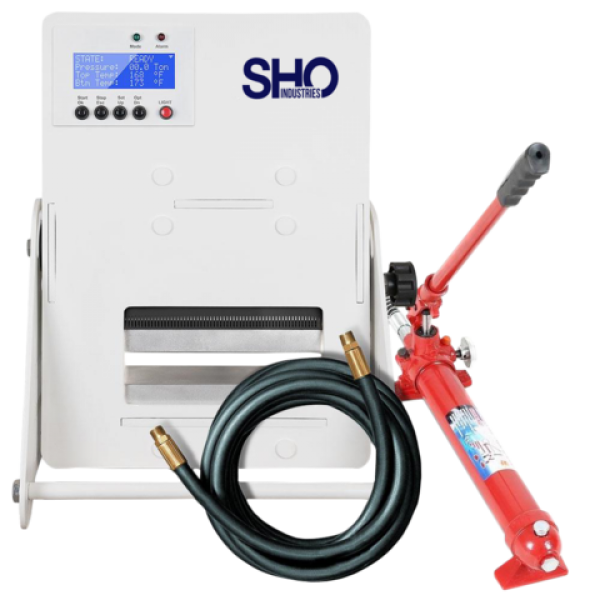SHO Industries Precision Rosin Press - Manual Combo