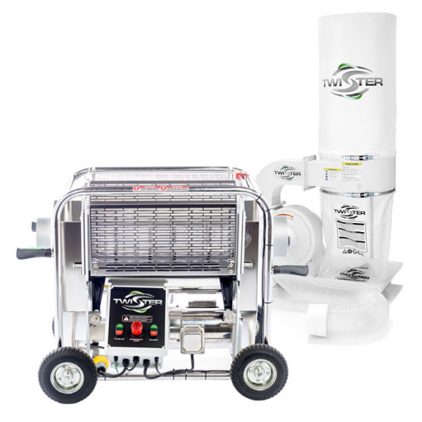 Twister T2S Trimming Machine with Leaf Collector Vacuum