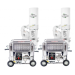 Twister Tandem T2S Trimming System with Leaf Collector Vacuums