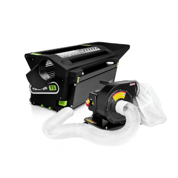 Twister T6 Dry Trimming System with Leaf Collector