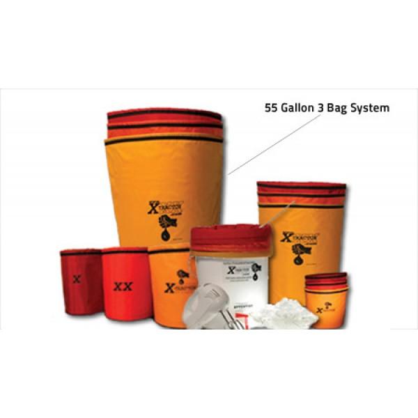 55 Gallon XXXtractor 3 Bag System
