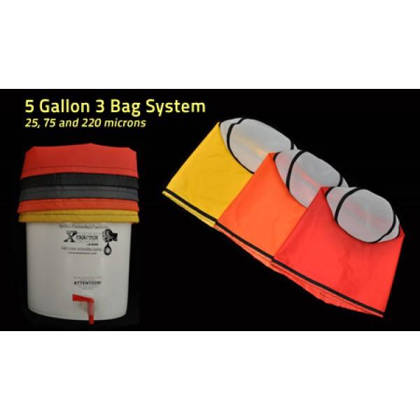 5 Gallon XXXtractor 3 Bag System