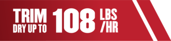 CUTS UPTO 108LBS PER HOUR