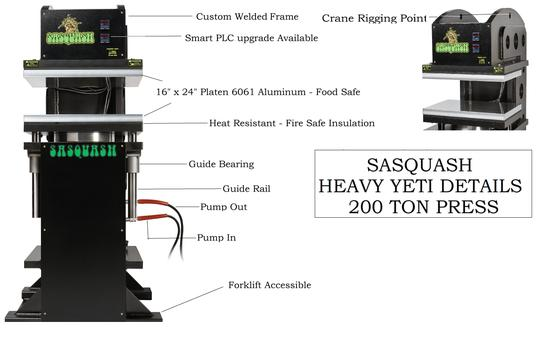 Sasquash  200 Ton Heavy Yeti details
