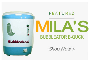 Quick Links to Bubbleator b-quick Bags.