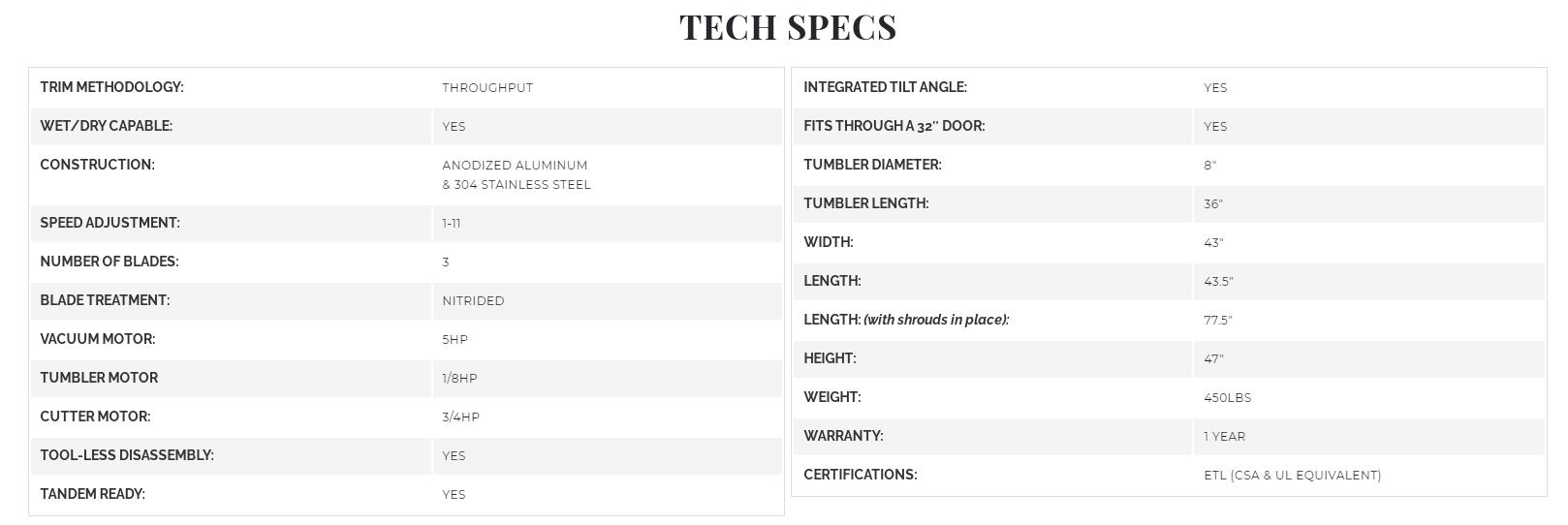 mobius m108s tech specs