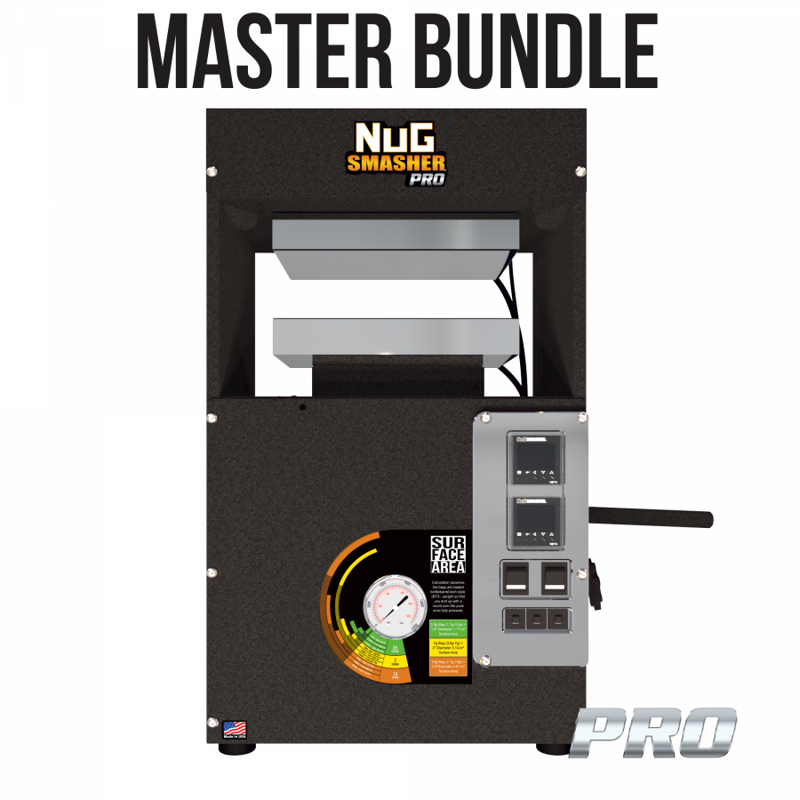 NugSmasher PRO Rosin Press ( Masters Bundle)