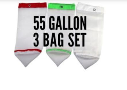 Frenchy Full Mesh – 55 Gallon 3 Bag Set