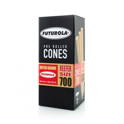 Futurola Reefer Size - 98/30 [700 Dutch Brown Cones]