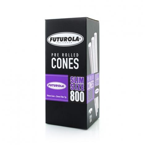 Slim Size - 98/26 [800 Classic White Cones]