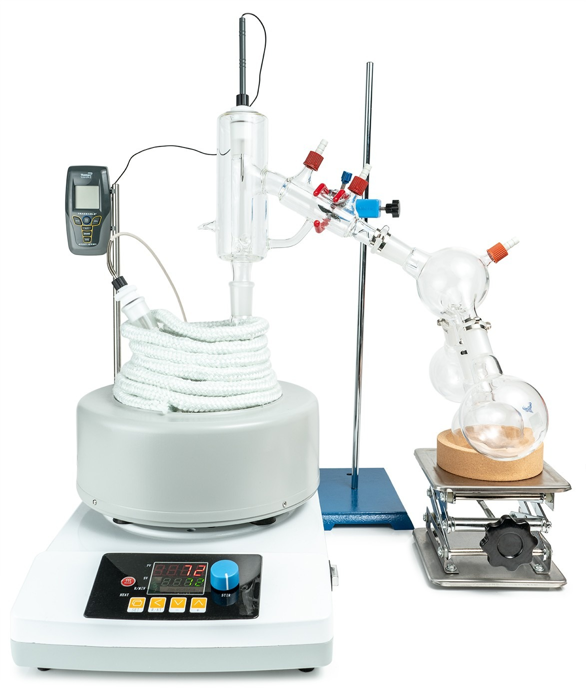 2L Short Path Distillation Kit with P2 Distillation Head
