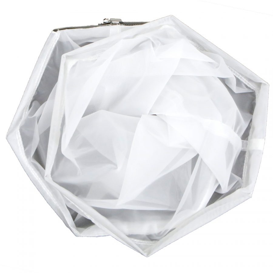NS SIFTER Bag – Replacement drum bags choose your micron 90,120,160 includes clamps on each bag.