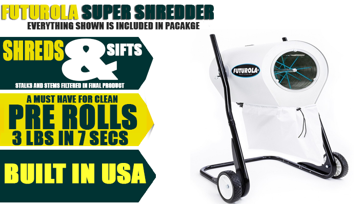 Futurola Pre-Roll Ultimate Combo Package Super Shredder