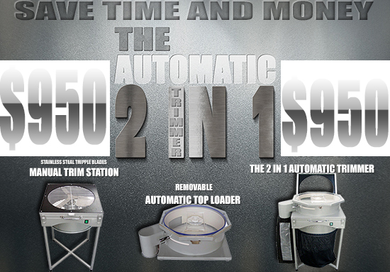 2 in 1 Automatic Trimmer