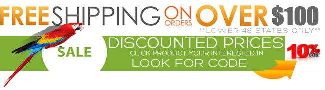 Free Shipping on all orders over $100, Weekly coupon codes.