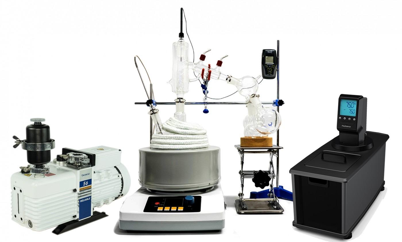 2L Premium Distillation Turnkey Setup