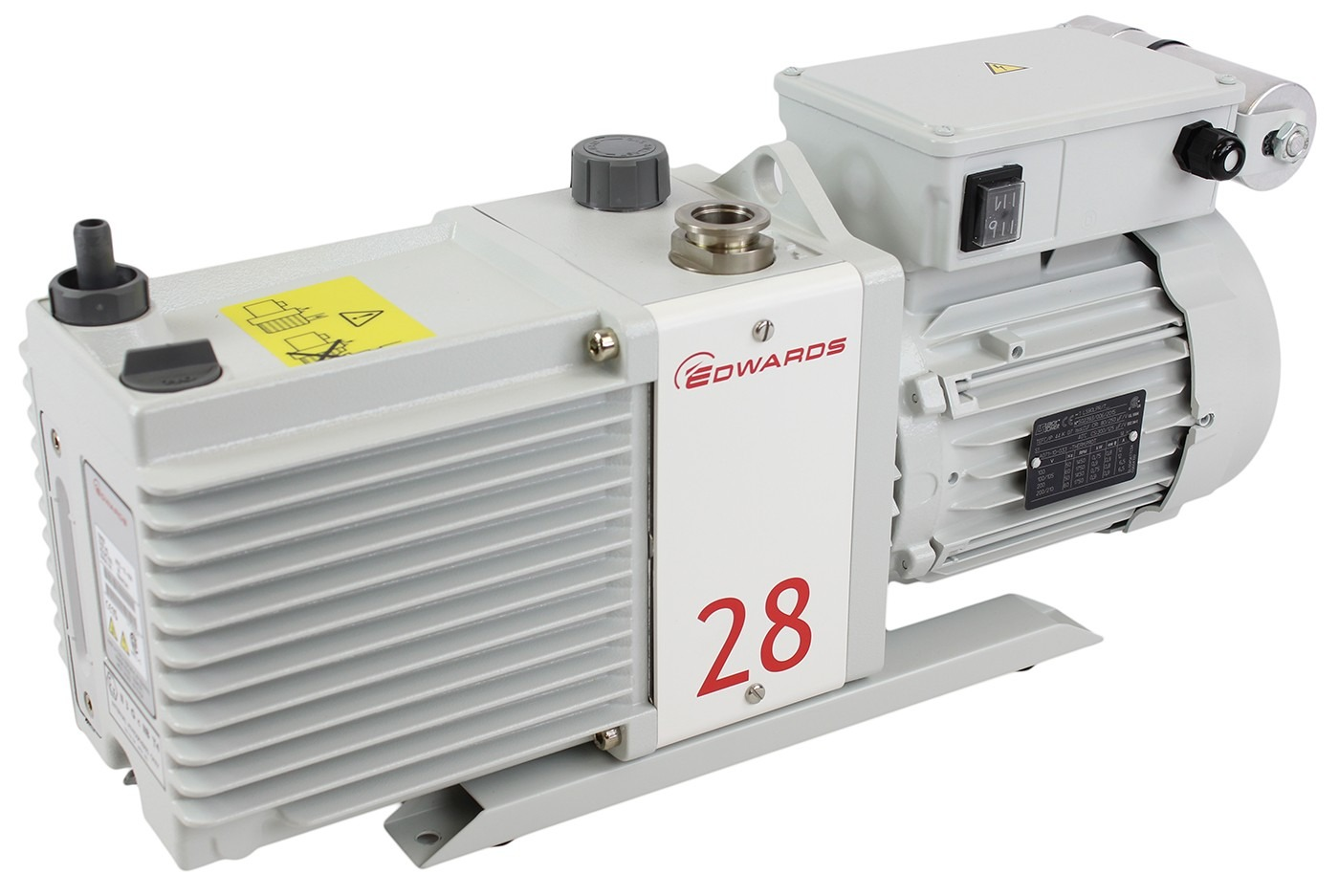 Edwards E2M28 21 CFM Dual-Stage High Capacity Vacuum Pump