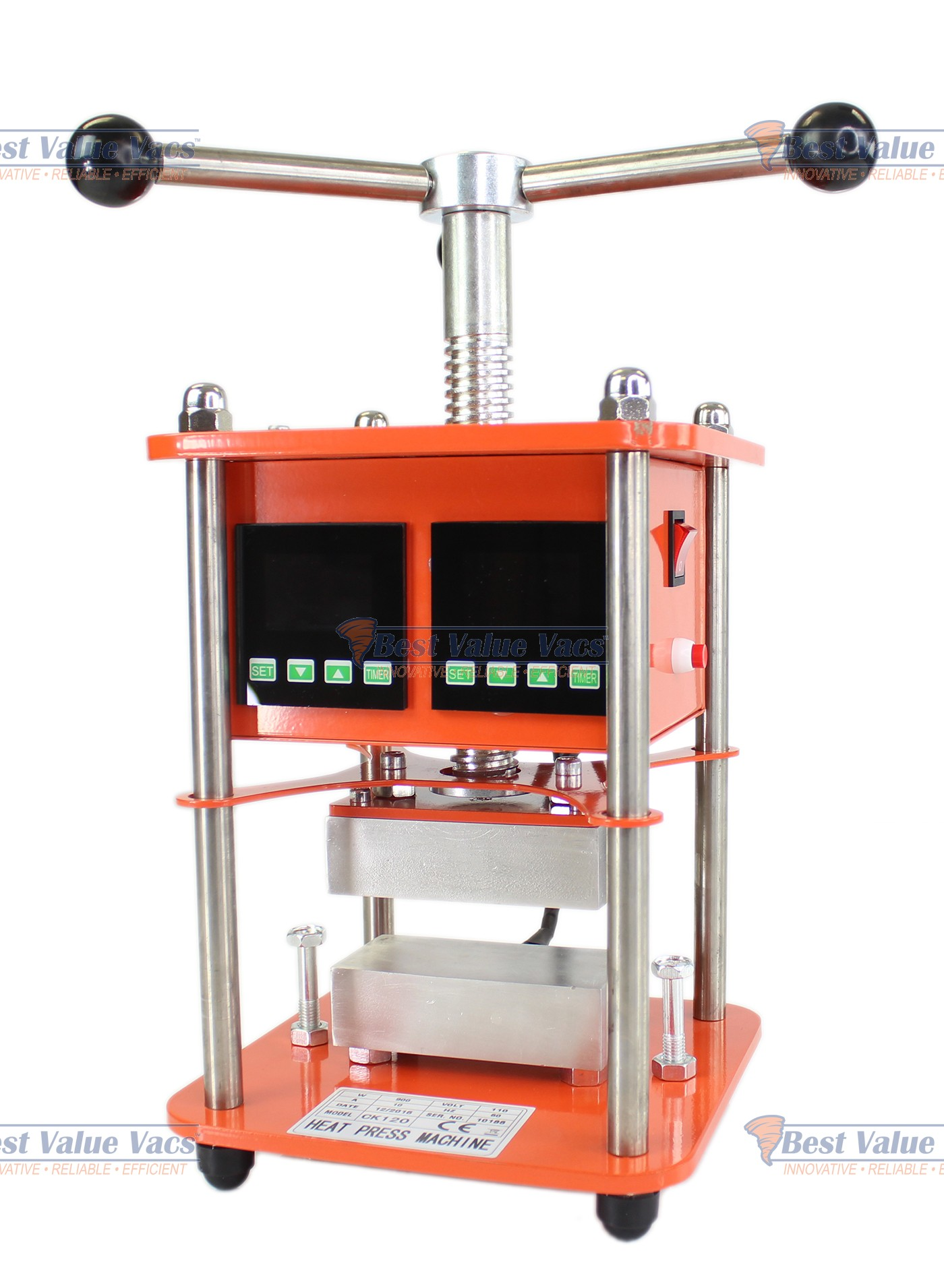 The Cyclone Twist Rosin Press