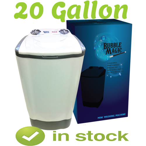 20 gallon bubble magic machine in stock