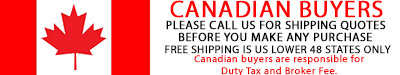 Canadian buyers shipping rules