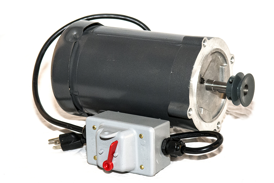 Designed by Baldor, this made in America motor is custom designed to accommodate CenturionPro's high standard of commercial bud trimmers. The CenturionPro's Baldor Motor is compact and durable, consistently providing maximum torque to rotate your tumbler and cutting reel blades at the precise speed.