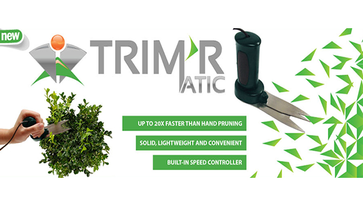 trim r matic electric hand held trimmer