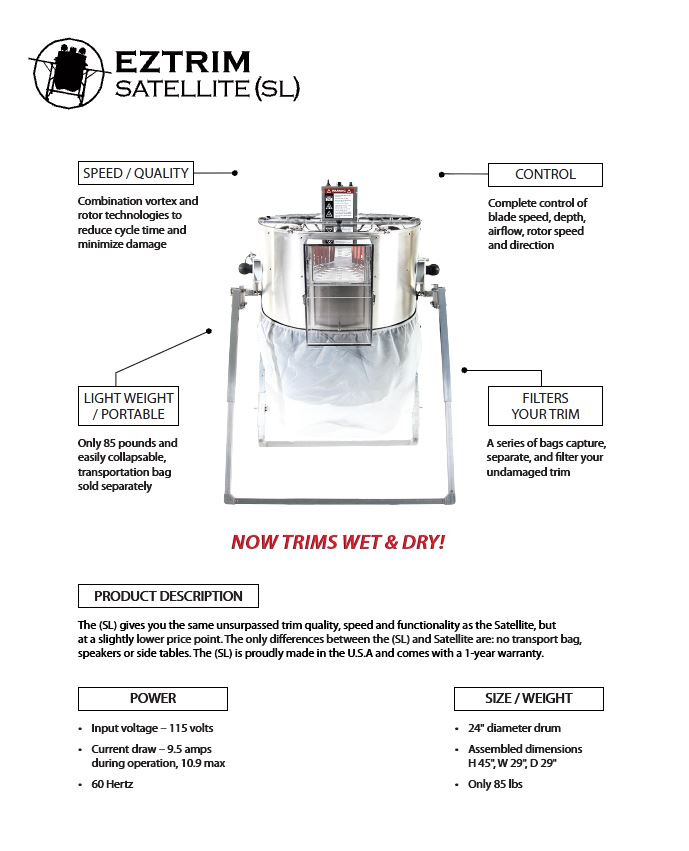 EZTRIM SATELLITE (SL) WET OR DRY
