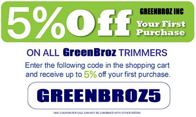 GreenBroz 215 Dry Trimmer Save 5% now