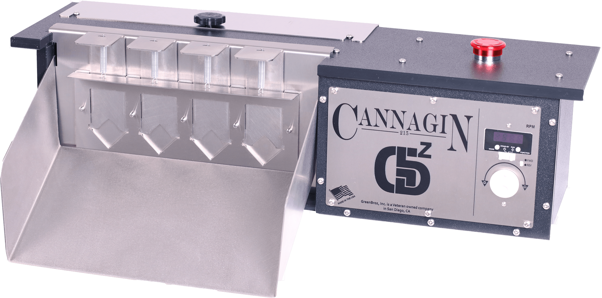 CannaGin 215 4-Door Faceplate