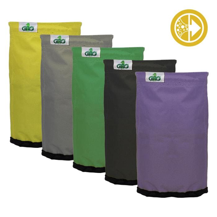 Grow1 Extraction Bags 10 gal. 5 bag kit