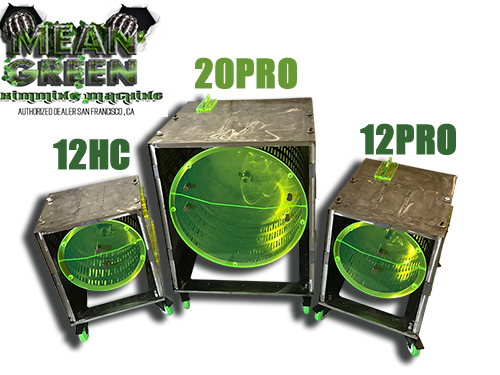 mean green trimming machine product line