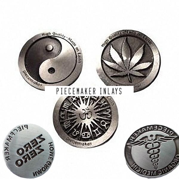 Piecemaker press inlay stamps