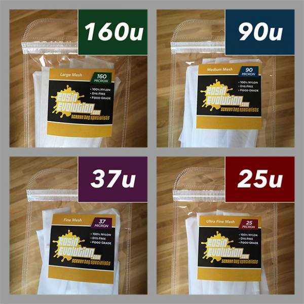Rosin Screen Bags – Variety Pack (3″x6″)